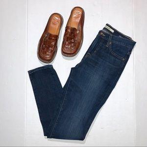 Big Star Omni Lift & Tuck Dark Wash Skinny Jeans